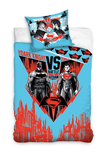 DC Batman vs Superman Bettwäsche Kinder Bettwäsche 160x200 cm 8013