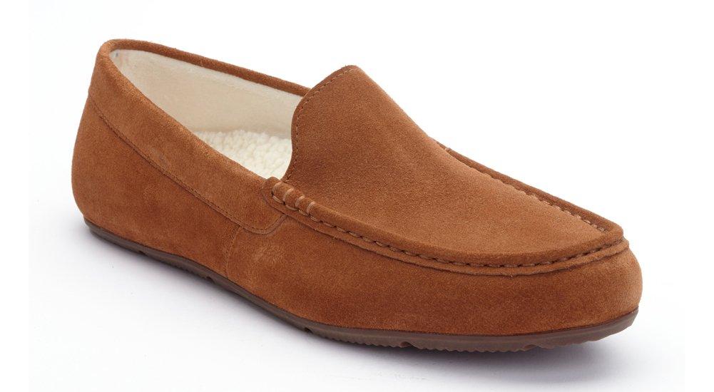 Vionic Borough Tompkin Slippers Chestnut