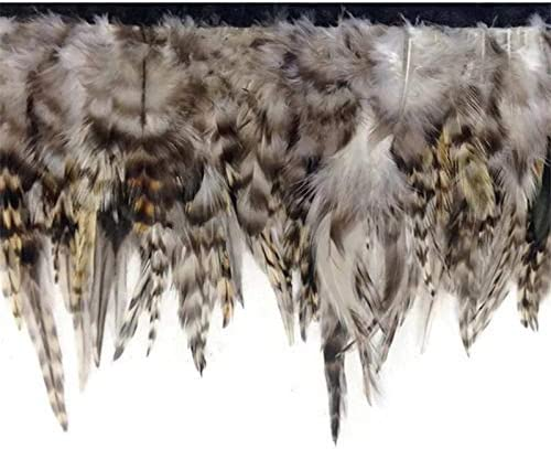 PVS 10Meters Natural Low price Rooster Pheasant Credence for Trims Fringe S Feather