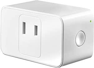 【Amazon.co.jp 限定】Meross WIFIスマートプラグ Meross スマートコンセント ハブ不要 スイッチ 無線リモコン ソケット ワイヤレス Alexa/Google Home/IFTTT対応 電源制御 遠隔操作 日本語の説明書付き(1個入り)