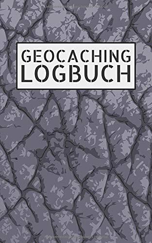 Geocaching Logbuch: Notizbuch und Logbuch für Geocacher - Geocaching Zubehör und Ausrüstung kleiner als DIN A5- Log mit Platz für 200 Eintragungen - ... Buch als Versteck für Flasche oder Dose