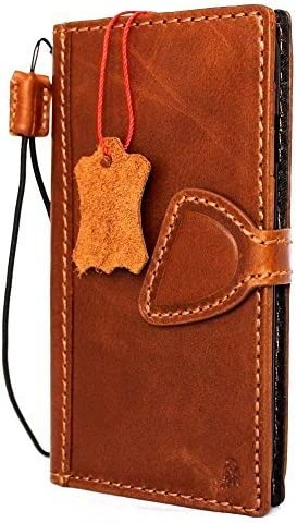 Genuine Vintage Leather Case for iPhone 7 Magnet Clo Portland Mall Miami Mall Book Wallet