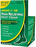 Magni Life DB Pain Relieving Foot Cream, 4 Ounce Each (2)