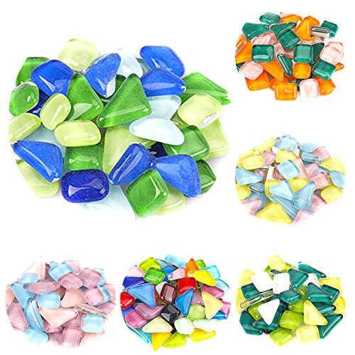 Whiie891203 500 Stück Mosaikfliesen...