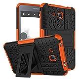 Maomi for Samsung Galaxy Tab A 7.0 Case 2016 Release ( Model:SM-T280/T285),Kickstand Heavy Duty Cover (Orange)