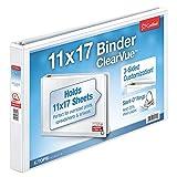 Cardinal 11 x 17-Inch, ClearVue Slant-D Ring Binder (CRD22112CB)