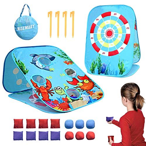 RISEMART Bean Bag Toss Game Toy for…