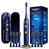 WAGNER Switzerland WHITEN+ EDITION. Smart electric toothbrush with PRESSURE SENSOR. 5 Brushing Modes