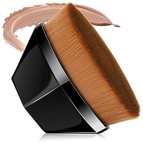 Pinceau Fond De Teint,Maquillage Pinceau, Kabuki Pinceau,Magique PéTales Polygonal Maquillage,Pour Fond De Teint Liquide, CrèMe, Poudre, CosméTiques