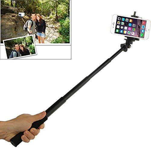 tomtoce extensible Autorretrato telescópica Handheld Monopod Holder para GoPro Hero4/3