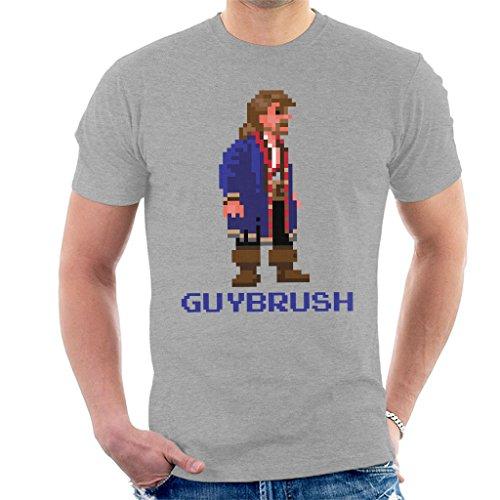 Guybrush Threepwood Pixel Character Profile Monkey Island Men's T-Shirt