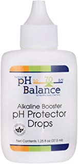 Swanson Alkaline Booster ph Protector Drops 1.25 fl Ounce (37.5 ml) Liquid