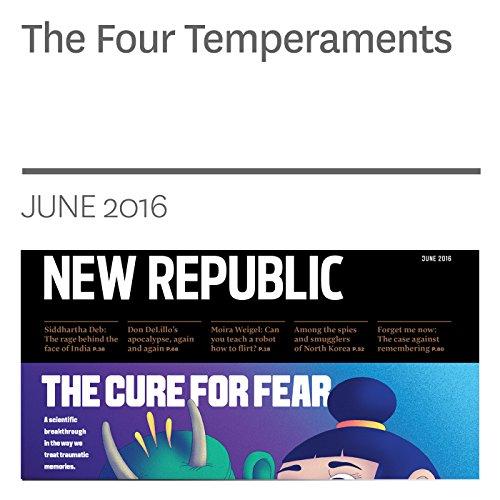 『The Four Temperaments』のカバーアート