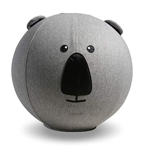 COOLDOT Yoga-Ball für Kinder mit Griff und Abdeckung Enthält Übungsball und Pumpe