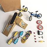 L&C Mini Wheel Scooter Kinder Mini Finger Skateboard Set-with...