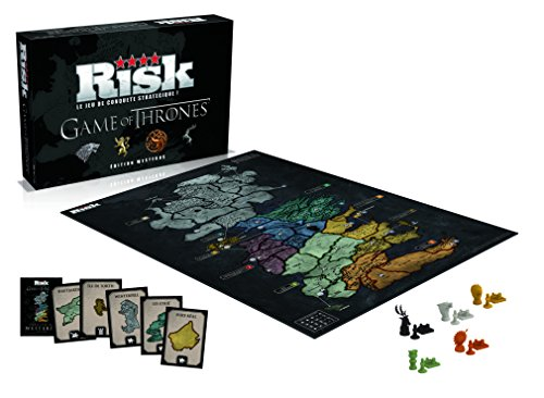 Winning Moves 0194 Tablett Risk Game of Thrones – Edition Westeros
