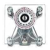 Básculas de baño mecánicas portátiles, Resorte para Dormitorio de Piso a Techo para medir el Peso Corporal en Libras, kg, no Requiere batería, medición rápida