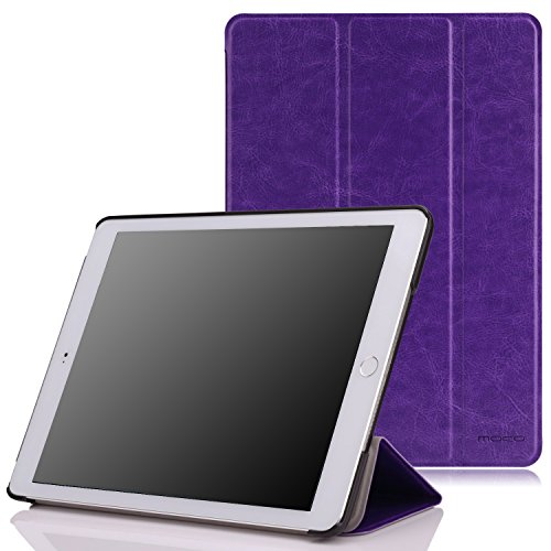 "MoKo Case Fit iPad Air 2 - Slim Lightweight Smart Shell Stand Cover Case Compatible with iPad Air 2 9.7"" 2014 Released Tablet, FM Purple (with Auto Wake/Sleep, Not Fit iPad Air 2013 Released Tablet)"