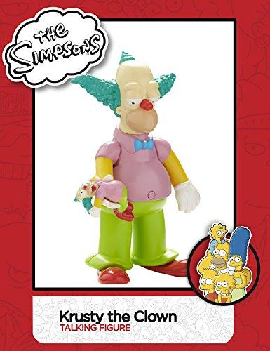3 hablando figura The Simpsons Series-Krusty The Clown