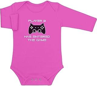 Shirtgeil Player 3 Has Entered The Game - Gamerbaby Baby Langarm Body