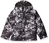 Columbia Boys' Little Lightning Lift Jacket, Shark Brushed Camo Print, X-Small