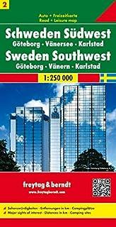 Sweden South West - Gothenburg - Vanersee - Karlstad Sheet 2