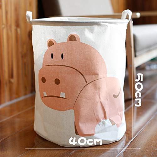 Mdsfe Wäschekorb wasserdicht schmutziger Wäschekorb schmutziger Wäschekorb Kinderspielzeugkorb tragbarer Spielzeugkorb - 9