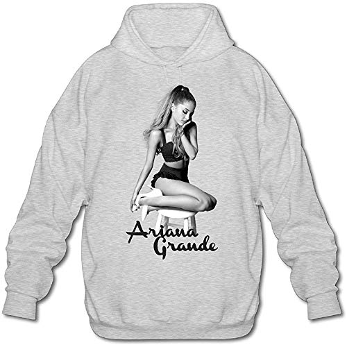 aixin Ariana Poster Grande Funny Long Sleeve Sweater for Men