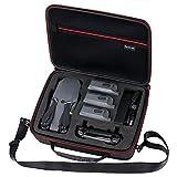 Smatree Housse de Transport pour DJI Mavic Pro Platinum, Fit pour 3 Batteries de Drones, Adaptateur de Chargeur de Batterie et télécommande (Non Applicable pour Mavic 2 Pro)