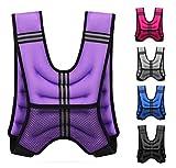 FAIRWAYUK Gewichtsweste für Frauen, 5 kg, 8 kg, 10 kg, Gewichtsverlust, Trainingsjacke, Crossfit,...
