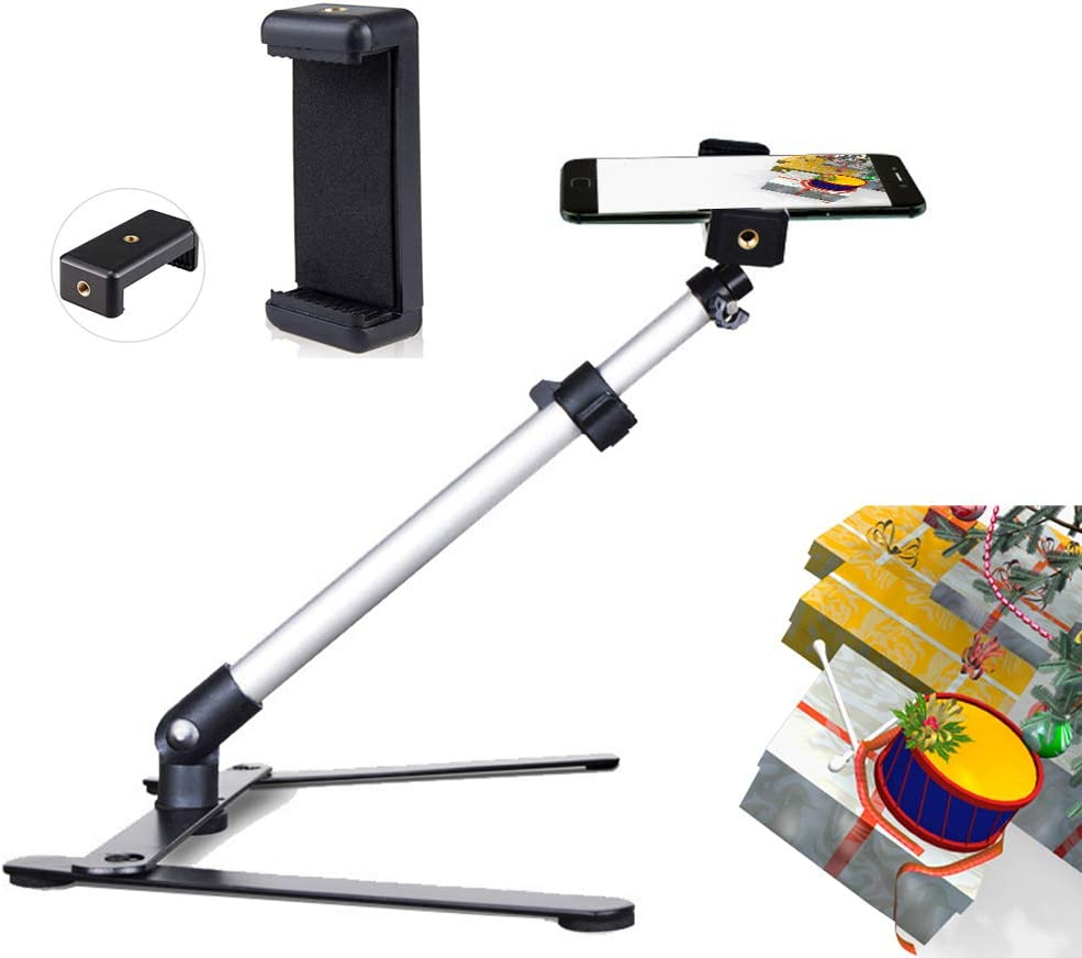 Trust Ajustable Tripod with Cellphone Stand Mount Overhead Phone Camer Sale Special Price