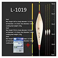2021リードフィッシングフロートフレッシュウォーターブイハードテールボバーフロタデサル敏感な安定したBoya釣りフロートツールタックルアクセサリー (色 : L 1019 3 pieces)