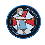 Resident Evil Biohazard STARS Airsoft Umbrella Anime Pinup Jill Valentine Zombie Cosplay Girl Morale Patch