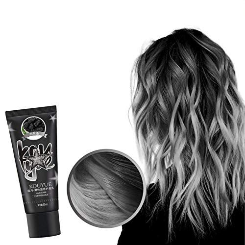 colinsa 1pcs 50ML Farbwechselnder Haarfarbstoff, Haarfarbe DIY-Farbstoff, Casting Gloss Haarfärbemittel, Hinterlassen Einer strahlenden Haarfarbe