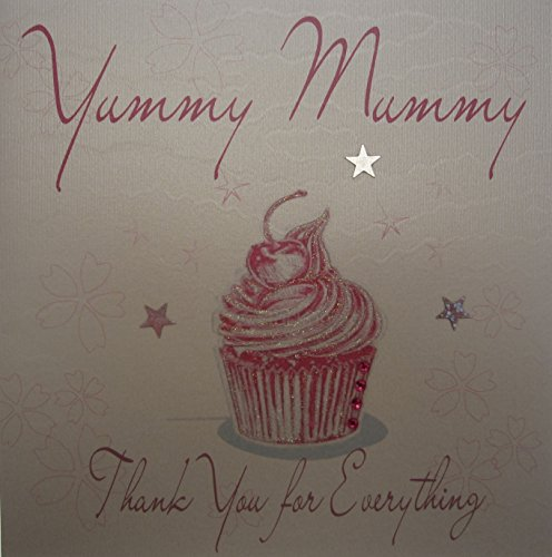 White Cotton Cards Cupcake