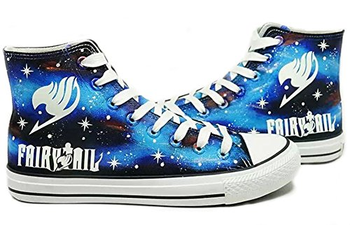 Fairy Tail Logo de Anime Cosplay Zapatos Zapatillas Zapatos de Zapatos de...