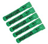 5 Stück Bengalfeuer grün Nico Feuerwerk Bengalos