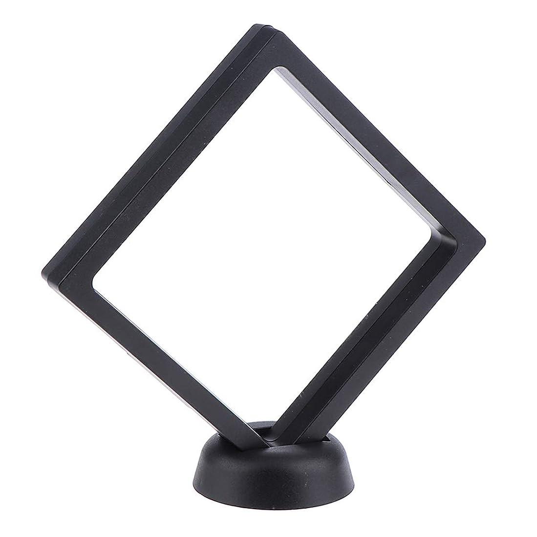 リンス二度冊子CUTICATE ネイルアート 展示用 ボード DIYフォトフレーム 透明 パネル 2色選べ - ブラック