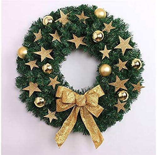 El nuevo outlet de marcas online. NANIH Home Creative Pentagram Christmas Christmas Christmas Garland Door Adornos Colgantes de la habitación árbol de Navidad Colgantes para decoración (oroen) Regalo  autorización oficial