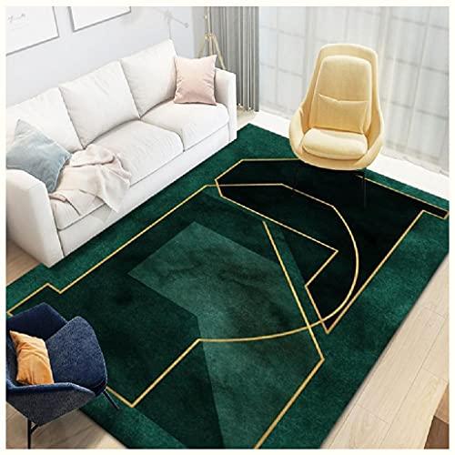 GJHYJK Alfombra de Estilo Moderno para Sala de vestíbulo Alfombras de Sala de Estar Decoración del hogar Manta Área Antideslizante Lava Lavable,1-50 * 80cm