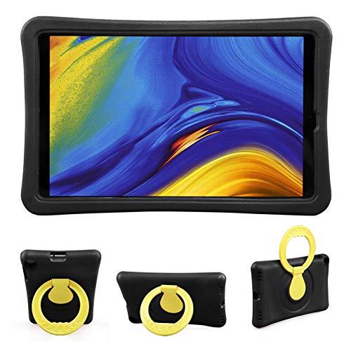 BelleStyle Niños Funda para Samsung Galaxy Tab A 10.1 2019 SM-T510 SM-T515, A Prueba de Choques Ligero Estuche Protector Giratorio Manija Caso Soporte para Galaxy Tab A 10.1 Pulgadas 2019 (Negro)