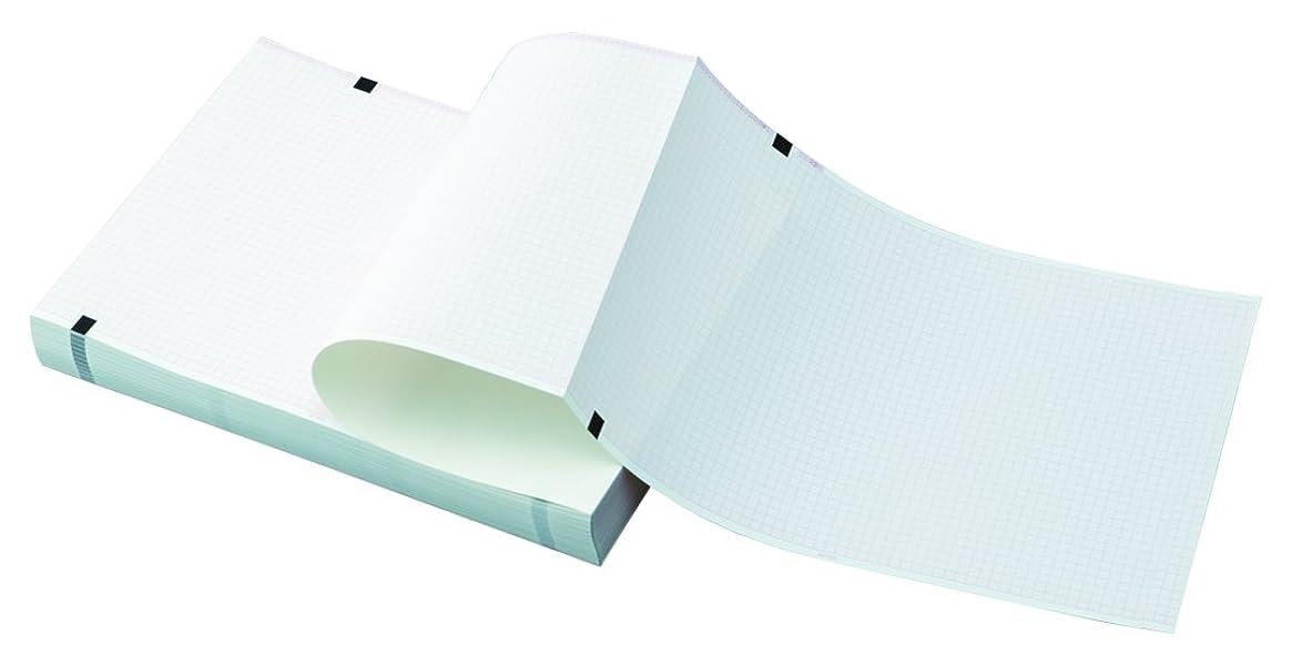 マーガレットミッチェル機関協会心電図用記録紙(折り畳み型) 110mm×140mm×20m 10冊入り /8-7042-09