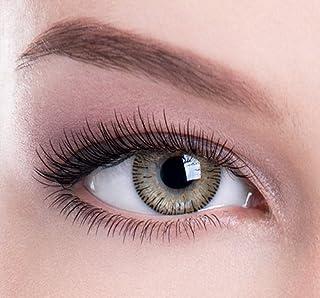 Lentes de contacto de colores Hasel. Ideal para cambiar la belleza, el glamour, el color de los ojos. De Colour Perfection® TM. Suave sin graduación.