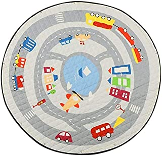 Z Baby Play Mat, Round Play Mat Baby, Large Polyester Non-slip Fashion Toys, Newborn Room Decoration Play Mat For Baby for...
