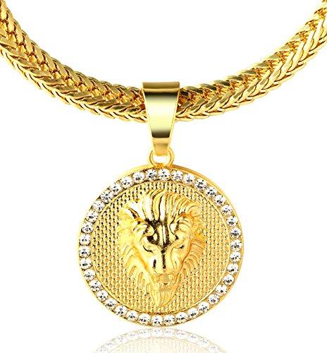 Halukakah ● Kings Landing ● Hombres 18K Oro Verdadero