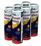 TRUEplus® Glucose Tablets, Orange Flavor - 10ct Tube (6)