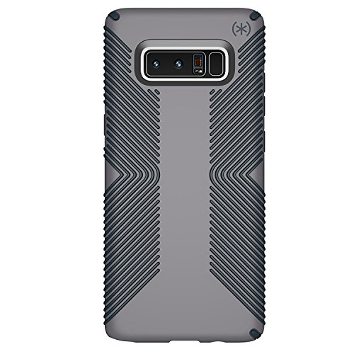 Speck Products Presidio Grip Cell Phone Case for Samsung Galaxy Note8 - Graphite Grey/Charcoal Grey Presidio Grip