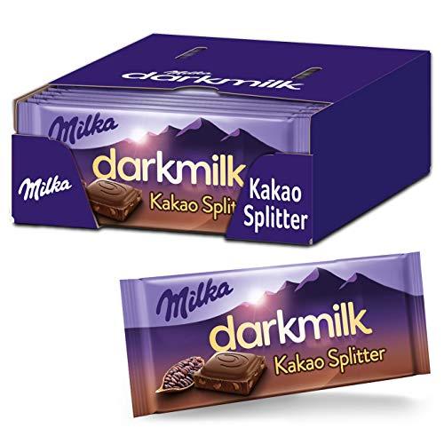 Milka Dark Milk Kakao Splitter – 25 x 85 g