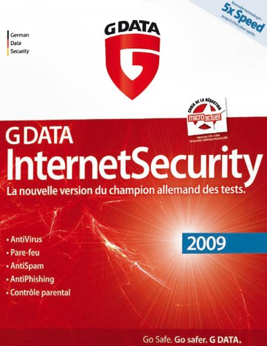 G Data internet security 2009 (3 postes, 1 an)