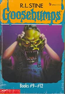Goosebumps Boxed Set, Books 9-12: Welcome to Camp Nightmare, The Ghost Next Door, The Haunted Mask, and Be Careful What Yo...